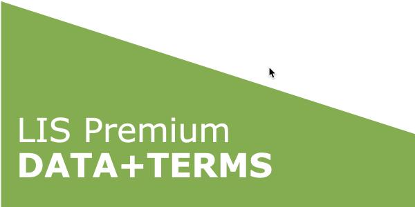 LIS Premium DATA+TERMS