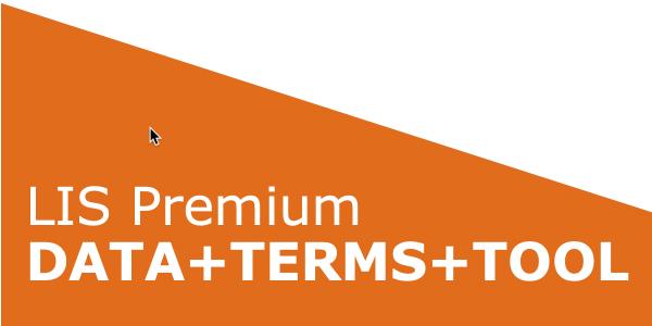 LIS Premium DATA+TERMS+TOOL